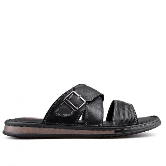 Черни мъжки чехли Martinez