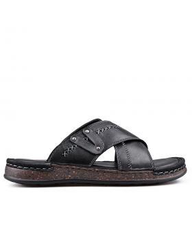 Черни мъжки чехли 0133585 в online магазин Fashionzona