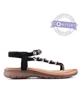 Черни дамски ежедневни сандали 0134217 в online магазин Fashionzona