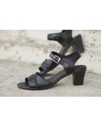 Дамски ежедневни сандали черни 239