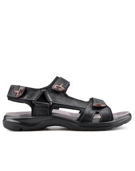 Черни мъжки сандали 0133589 в online магазин Fashionzona