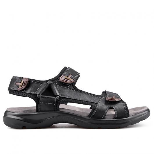 Черни мъжки сандали Mano