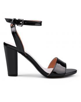 Черни дамски елегантни сандали 0134065 в online магазин Fashionzona