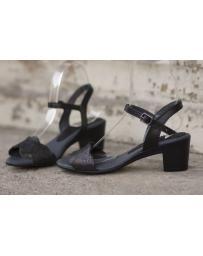 Черни дамски ежедневни сандали Lissa в online магазин Fashionzona