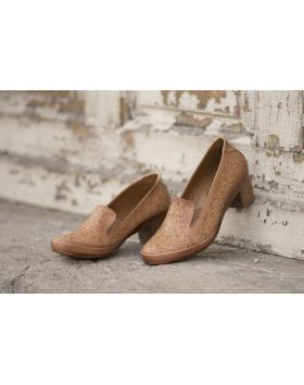 Кафяви дамски ежедневни обувки Naina в online магазин Fashionzona