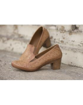 Кафяви дамски ежедневни обувки 1803 в online магазин Fashionzona