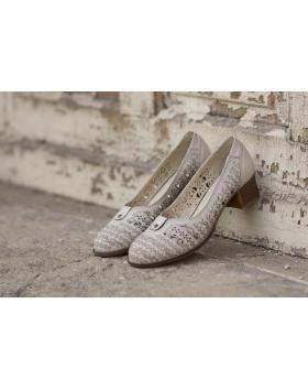 Сиви дамски ежедневни обувки 3041 в online магазин Fashionzona