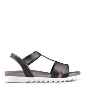 Черни дамски ежедневни сандали 0133756 в online магазин Fashionzona