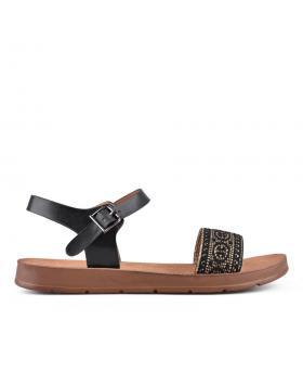 Дамски ежедневни сандали черни 0133785 в online магазин Fashionzona
