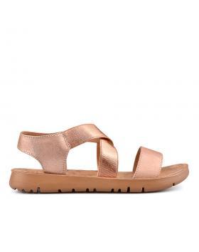 Дамски ежедневни сандали златисти 0134516 в online магазин Fashionzona