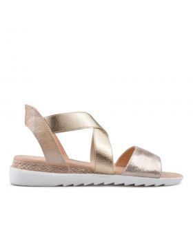 Дамски ежедневни сандали златисти 0134451 в online магазин Fashionzona