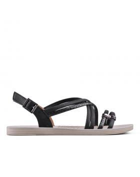 Дамски ежедневни сандали черни 0134227 в online магазин Fashionzona