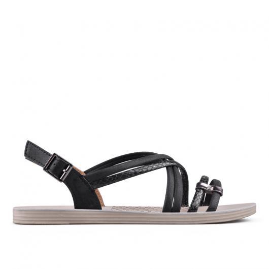 Черни дамски ежедневни сандали 0134227