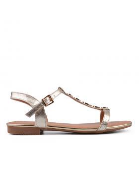 Дамски ежедневни сандали златисти 0134465 в online магазин Fashionzona