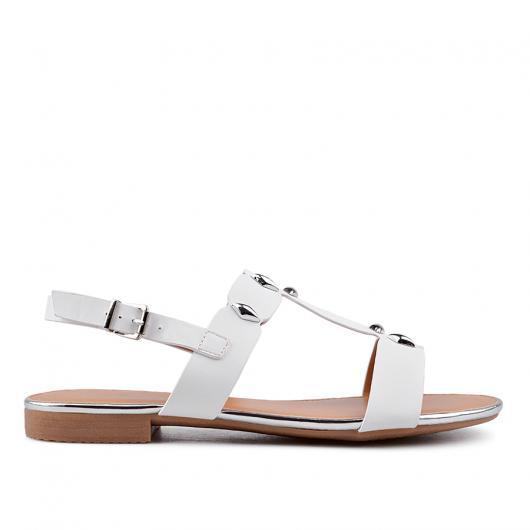 Бели дамски ежедневни обувки 0134471