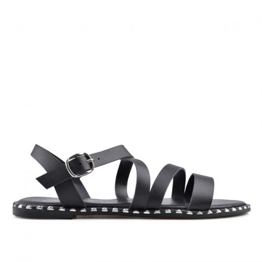 Черни дамски ежедневни сандали Kolby