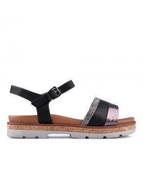 Дамски ежедневни сандали черни 0133770 в online магазин Fashionzona