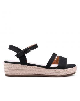 Черни дамски ежедневни сандали 0134063 в online магазин Fashionzona