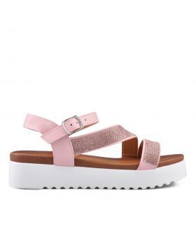 Розови дамски ежедневни сандали 0134534 в online магазин Fashionzona