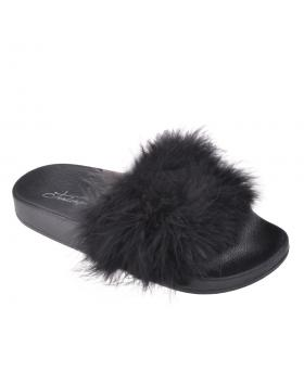 Черни дамски ежедневни чехли 0133932 в online магазин Fashionzona