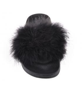 Черни дамски ежедневни чехли Geonna в online магазин Fashionzona
