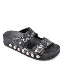Черни дамски ежедневни чехли Amisha