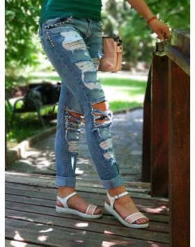 Розови дамски ежедневни сандали 1527 в online магазин Fashionzona