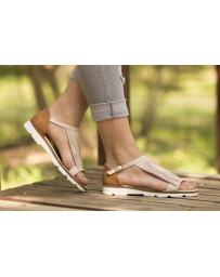 Розови дамски ежедневни сандали allyda08 Sitara в online магазин Fashionzona