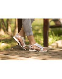 Бели дамски ежедневни сандали allyda08 Jullie в online магазин Fashionzona