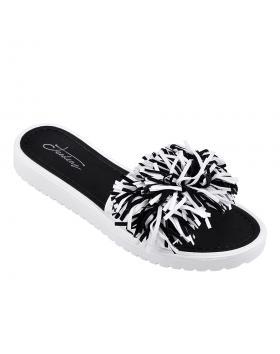 Черни дамски ежедневни чехли 0133930 в online магазин Fashionzona