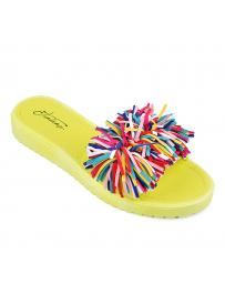 Жълти дамски ежедневни чехли Juleen в online магазин Fashionzona