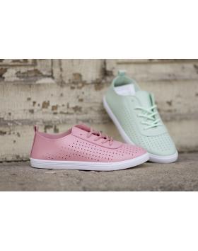 Розови дамски ежедневни обувки 130 в online магазин Fashionzona
