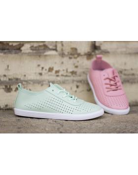 Зелени дамски ежедневни обувки 130 в online магазин Fashionzona
