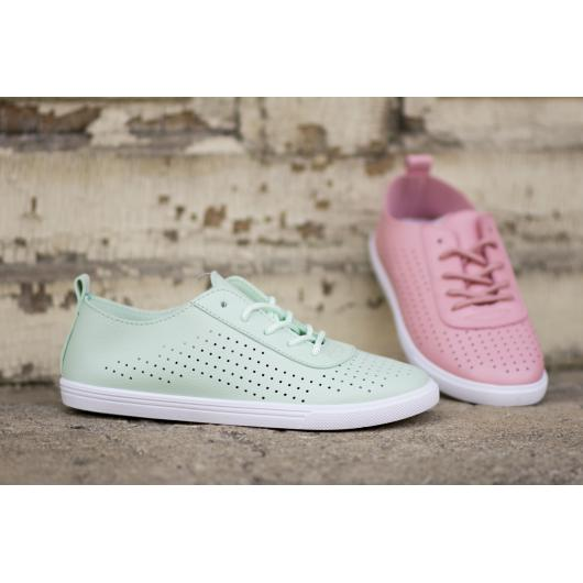 fa384e00b91 Зелени дамски ежедневни обувки Eve ⋙ на цена 15,33 лв — Fashionzona