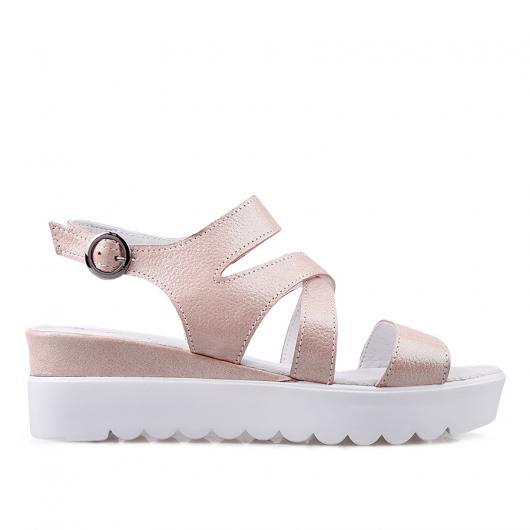 Розови дамски ежедневни сандали 1098