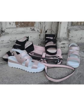 Розови дамски ежедневни сандали 1098 в online магазин Fashionzona