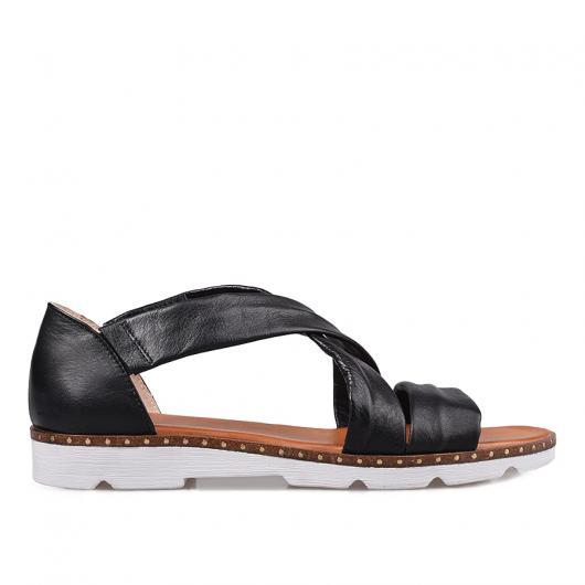 Черни дамски ежедневни сандали Sherez