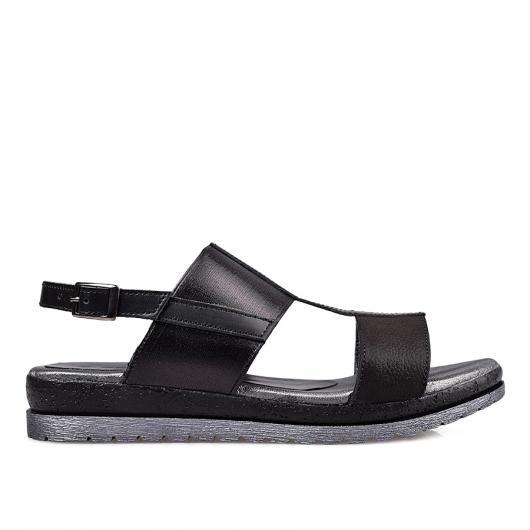 Черни дамски ежедневни сандали 1815