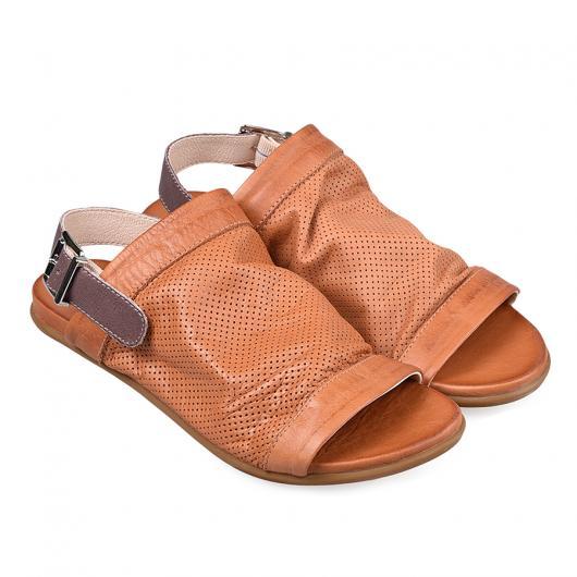 Кафяви ежедневни дамски сандали Aliza
