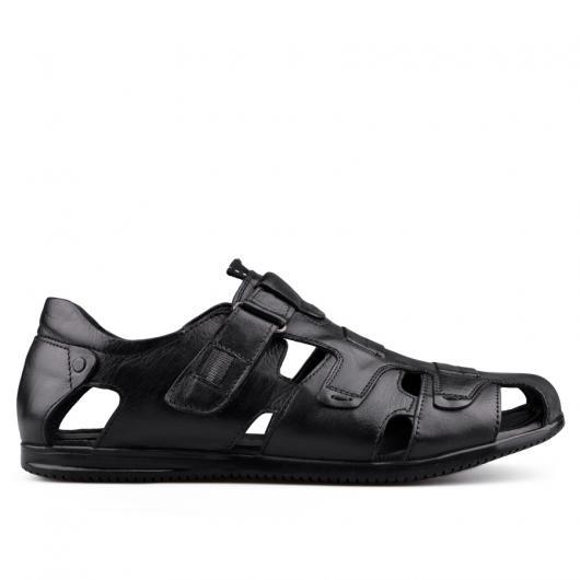 Черни мъжки ежедневни сандали 0134943