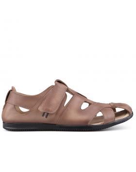 Кафяви мъжки ежедневни сандали 0134941 в online магазин Fashionzona