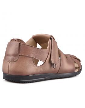 Кафяви мъжки ежедневни сандали Damarius в online магазин Fashionzona