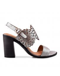 Сиви дамски ежедневни сандали 3043