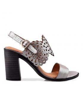 Сиви дамски ежедневни сандали 3043 в online магазин Fashionzona
