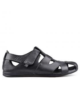 Черни мъжки ежедневни сандали 0134940 в online магазин Fashionzona
