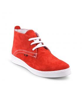 Червени дамски ежедневни обувки 0124447 в online магазин Fashionzona