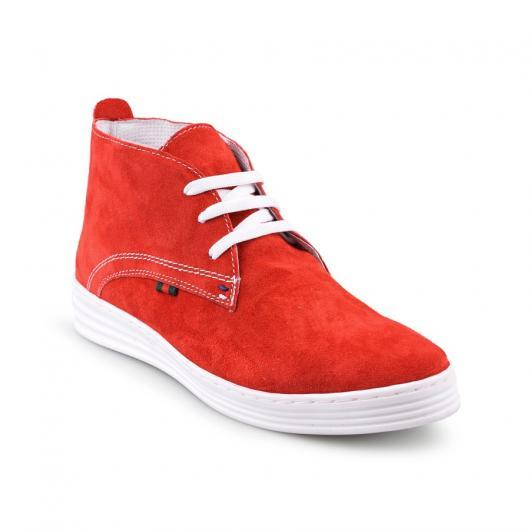 Червени дамски ежедневни обувки Nevaeh