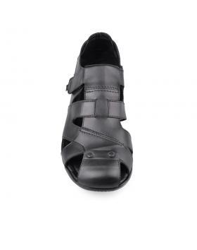 Черни мъжки ежедневни сандали Neto в online магазин Fashionzona
