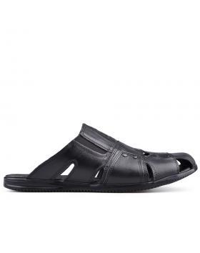 Черни мъжки чехли 0134946 в online магазин Fashionzona