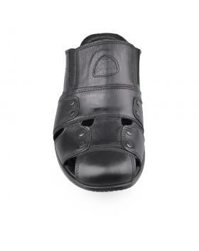 Черни мъжки чехли Emiliano в online магазин Fashionzona
